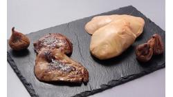 Escalopes de foie gras cru