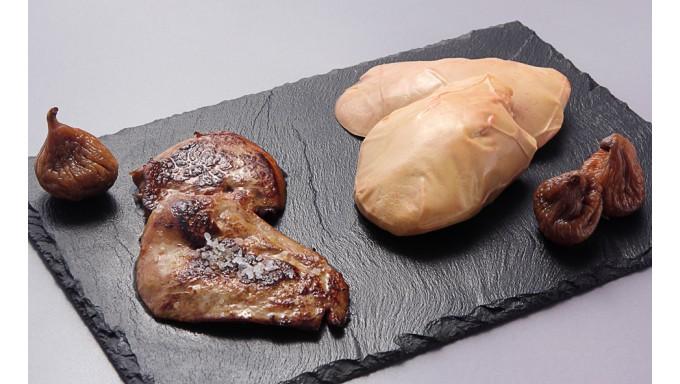 Escalopes de foie gras cru de canard - Cuisiner foie gras cru ...