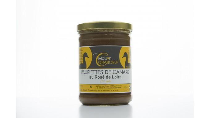 Paupiettes de Canard au Rosé de Loire